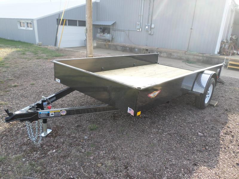 2017 H and H Trailer Utility Trailer 76 X 14