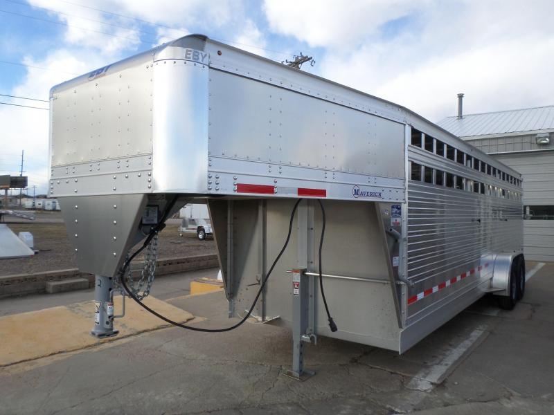 2017 Eby Trailers Freedom Edition Livestock Trailer