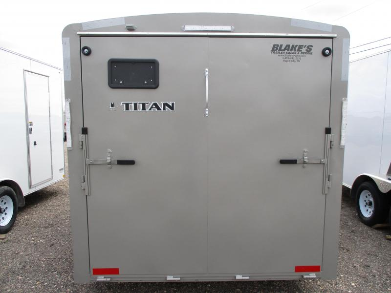 2018 Titan Trailers Cargo Enclosed Cargo Trailer