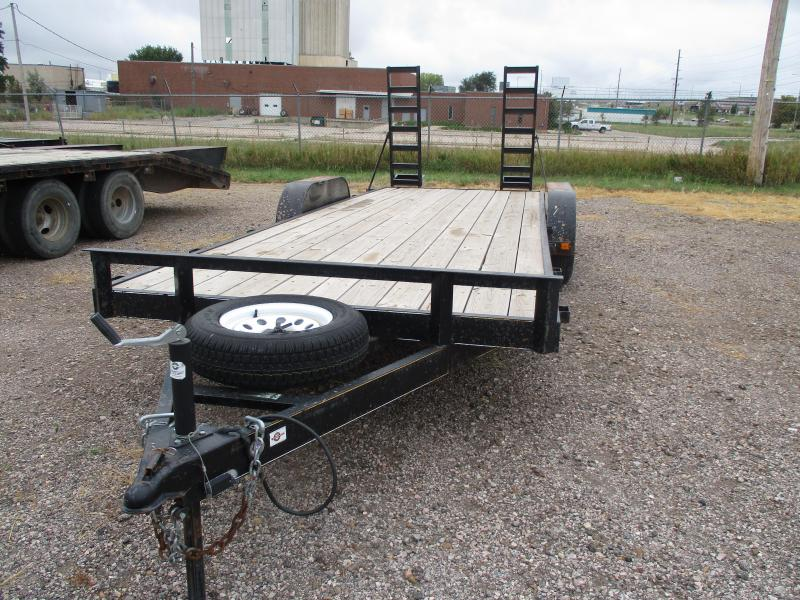 2015 Carry-On Car Hauler Flatbed Trailer 82 X 20