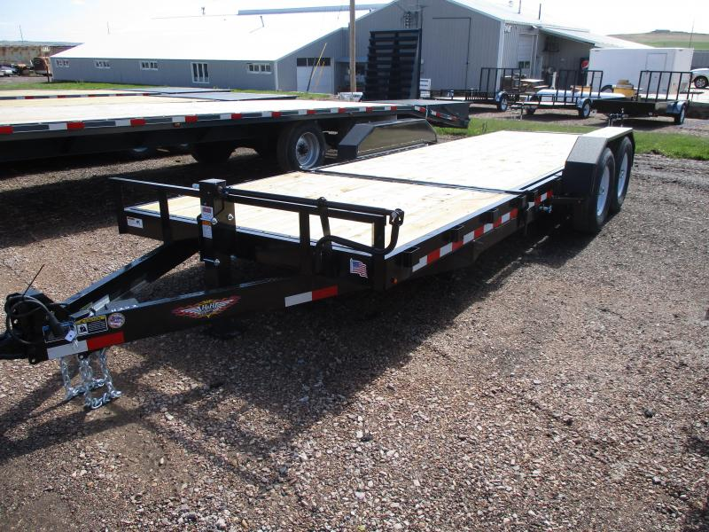 2019 H and H Trailer Tilt bed Flatbed Trailer