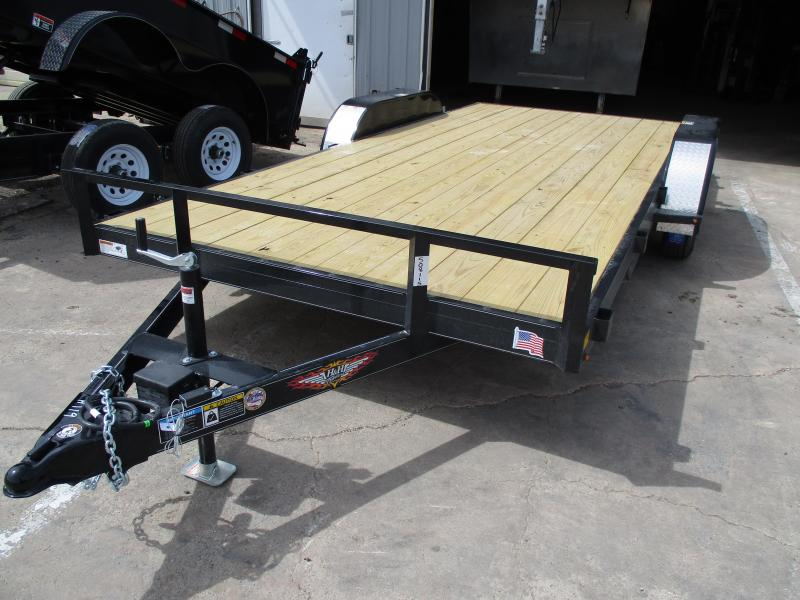 2019 H and H Trailer Car Hauler Utility Trailer