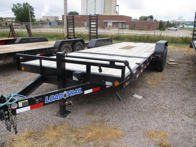 2014 Load Trail Tilt bed Flatbed Trailer 82 X 20
