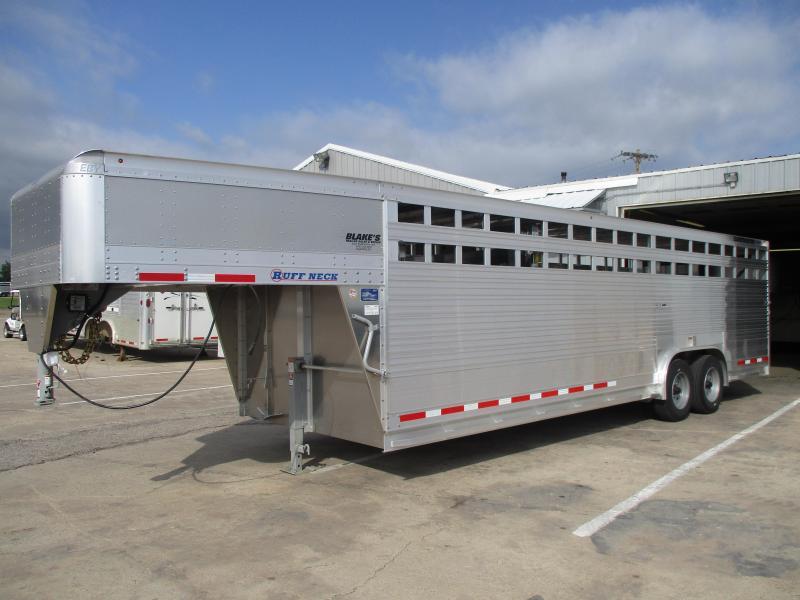 2019 Eby Trailers Ruffneck Livestock Trailer 8 X26