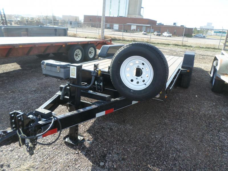 2013 Titan Trailers Tilt Bed Flatbed Trailer