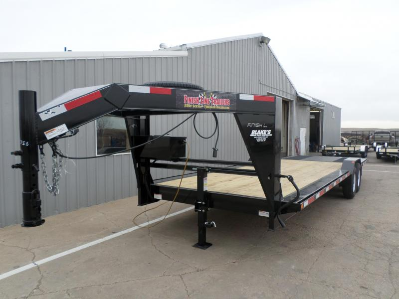 2016 Finish Line LDHD14 8.526 Flatbed Trailer