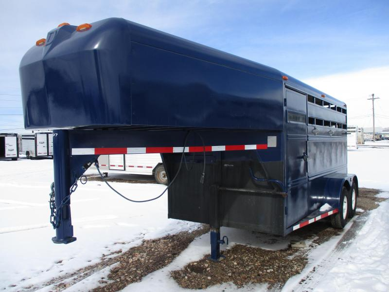 1995 Diamond D Stock Combo Livestock Trailer