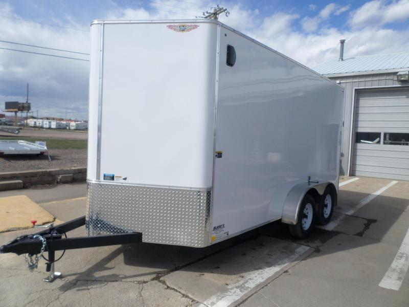 2018 H and H Trailer Cargo Enclosed Cargo Trailer 7 X 14
