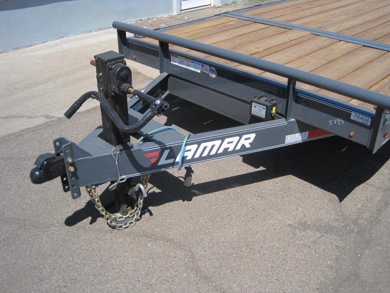 2019 Lamar Trailers TD-14k-20ft Split Tilt Equipment Trailer