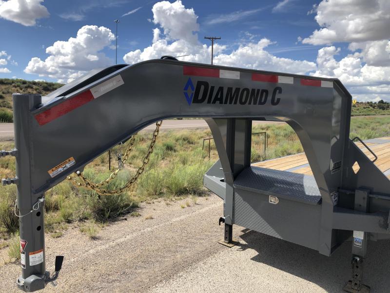 2019 Diamond C Trailers Fmax-212-40-MR- Flatbed Trailer