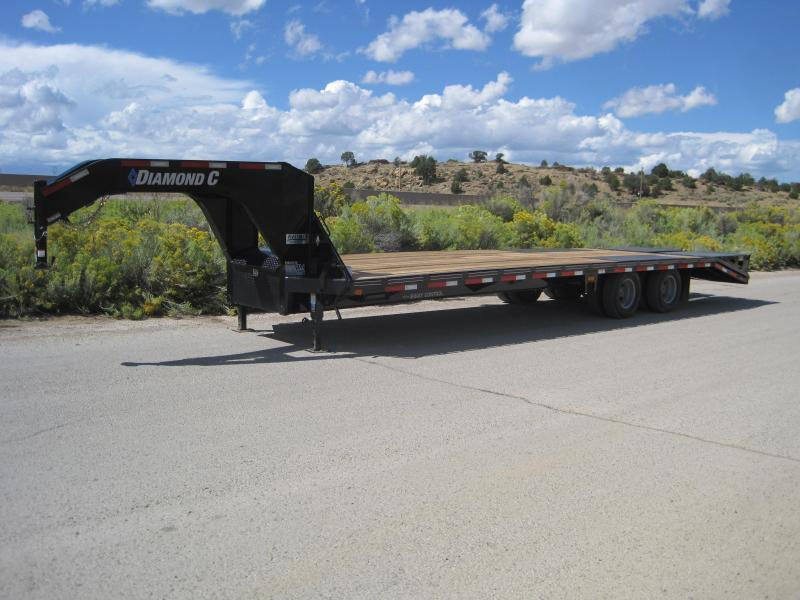 2019 Diamond C Trailers Fmax-210-30-MR Flatbed Trailer