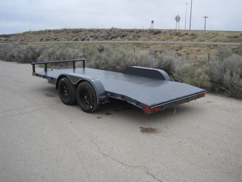 2019 Lamar Trailers CE-3.5k-16 Steel Deck Car / Open Car Trailers