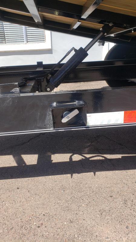 "2020 Lamar Tilt Deck 14k- 83"" inch wide x 22ft Split Tilt Equipment Trailer ***Free Spare**  Cash Discounts- See Below"