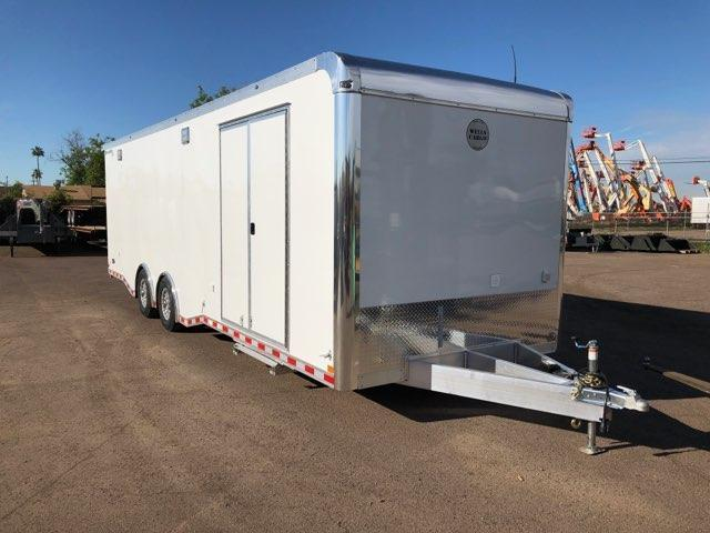 2020 Wells Cargo Motor Trac SS Enclosed Cargo Trailer- All Aluminum - 28' x 8.5'