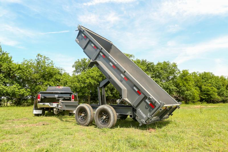 Lamar Dump Trailers- On Sale Now- Free Delivery- High Desert Trailers