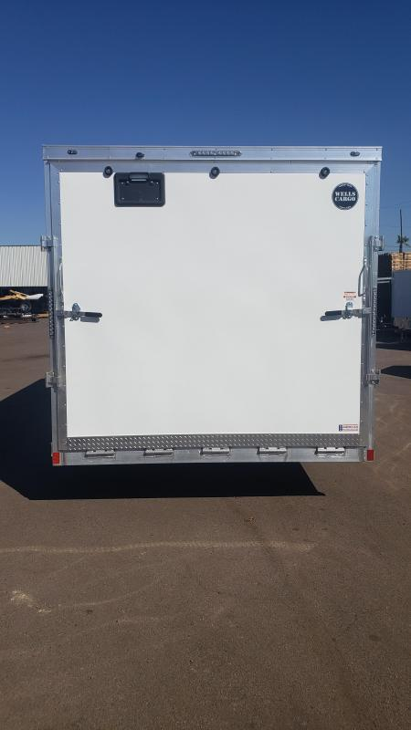 2019 Wells Cargo Sport Trac Motorcycle Enclosed Racing Trailer