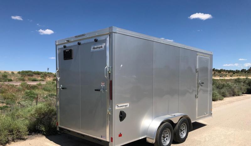 2019 Haulmark 7x16ft Transport Enclosed Cargo Trailer