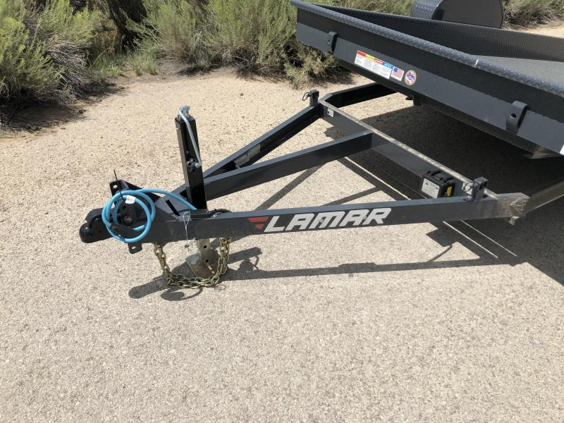 2019 Lamar Trailers Tilt Scissor Hauler Equipment Trailer