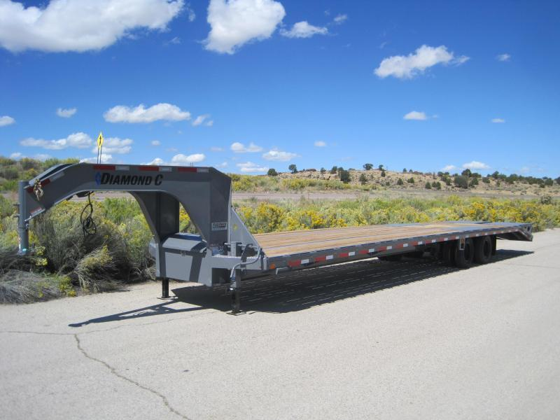 2020 Diamond C Trailers Fmax-210-40-MR Flatbed Trailer