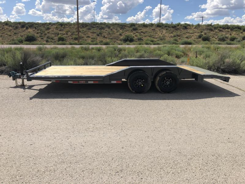 ON SALE NOW- 2020 Lamar Trailers ccw-5.2k-20 Car / Open Car Trailers-9990# GVWR- Drive over fenders-  Free Spare-