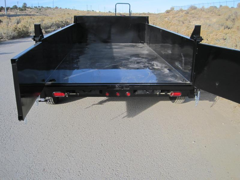 2020 High Desert Dump -14000# GVWR- 7x14ft- Ramps- Spreader Gate- Sealed Wiring Harness- LED- Cash Discounts (See Below)