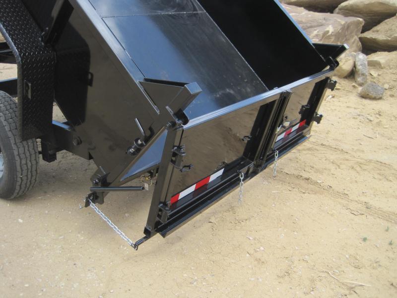 High Desert Dump -14,000# GVWR- 7x14ft- Ramps- Tarp Kit- Spreader Gate- Sealed Wiring Harness- LED- Cash Discounts (See Below)