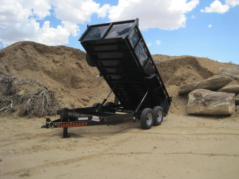 2019 High Desert -14k-14ft Dump Trailer