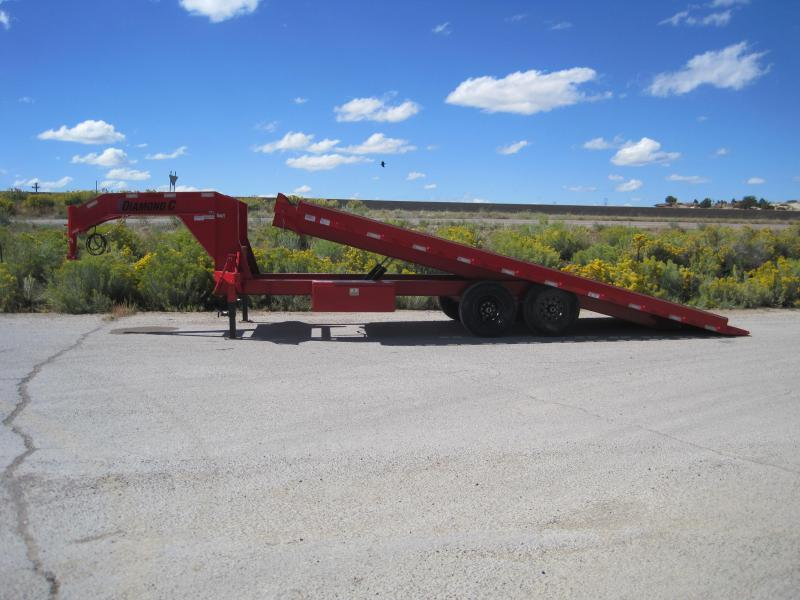2020 Diamond C Trailers DET-22 Flatbed Trailer