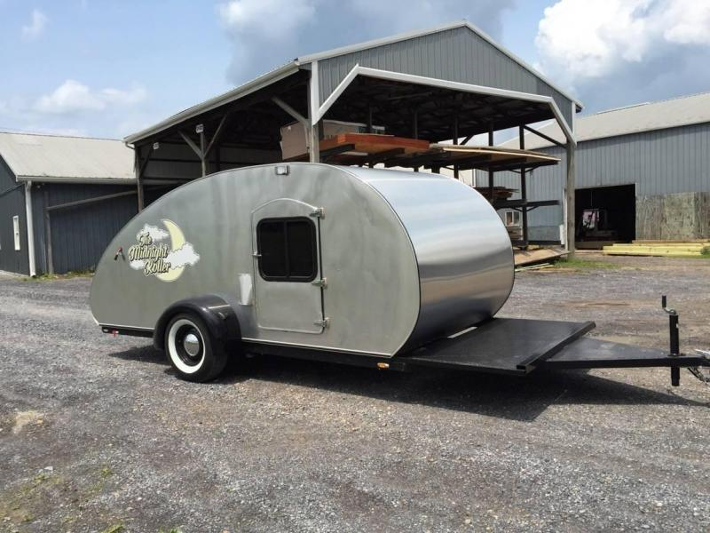 2015 CustomTear Drop Camper Enclosed Trailer