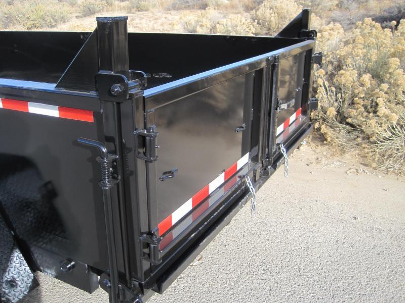 2020 High Desert Dump -14000# GVWR- 7x14ft- Ramps- Spreader Gate- Sealed Wiring Harness- LED- Cash Discounts (See Below)