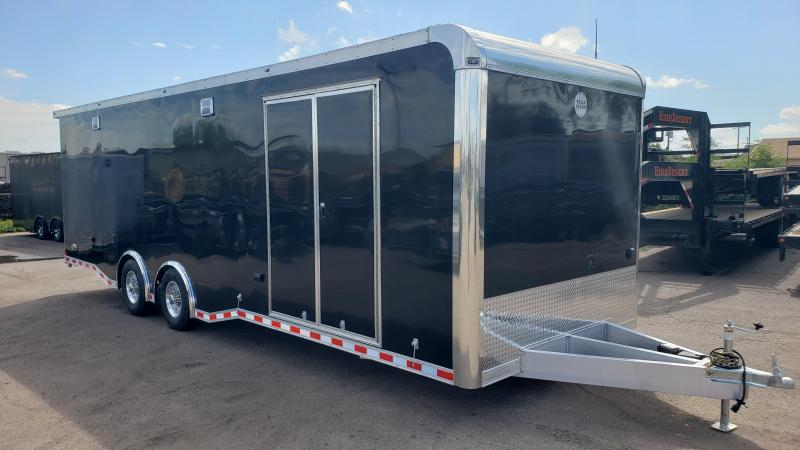 2020 Wells Cargo Motor Trac SS Enclosed Cargo Trailer- All Aluminum - burnout package