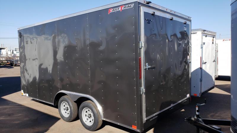 2019 Wells Cargo FT85162 Enclosed Cargo Trailer / Car Trailer