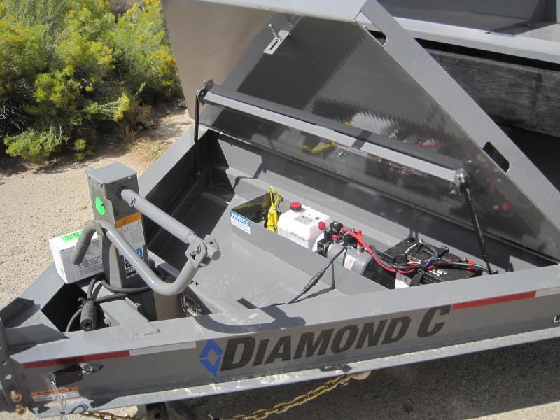 2020 Diamond C Trailers LPD207 16x82 Dump Trailer
