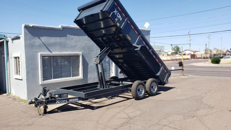 "2019 X-On I6-DT831627 Dump Trailer 83"" x 16'"