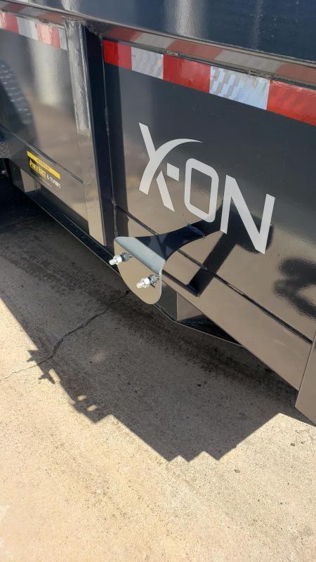 """2019 X-On I6-DT831627 Dump Trailer 83"""" x 16'"""