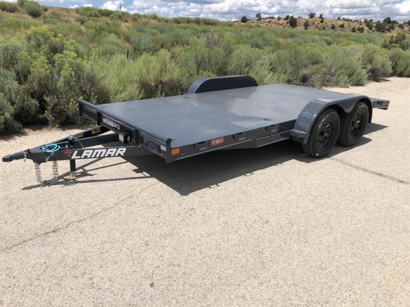 2019 Lamar Trailers CE-3.5k-18 Steel Deck Car / Open Car Trailers