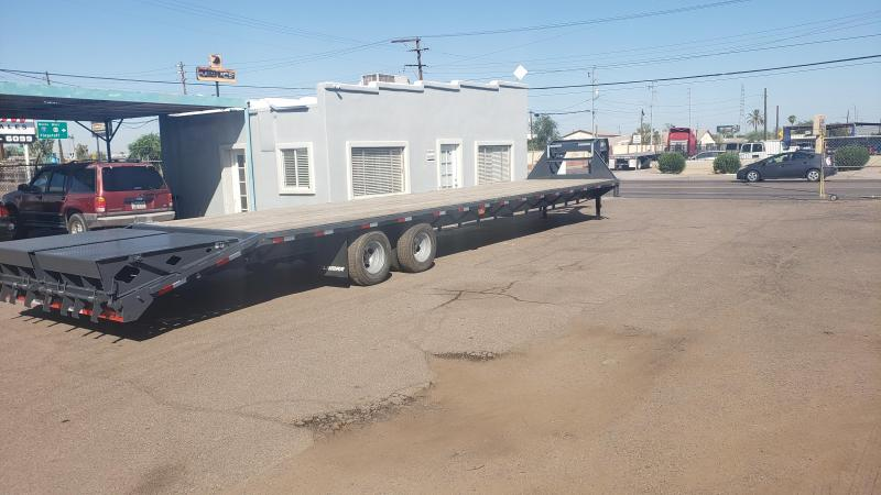 2019 Lamar Trailers Flat deck 40ft, Air Ride Suspension, EOH Brakes Flatbed Trailer