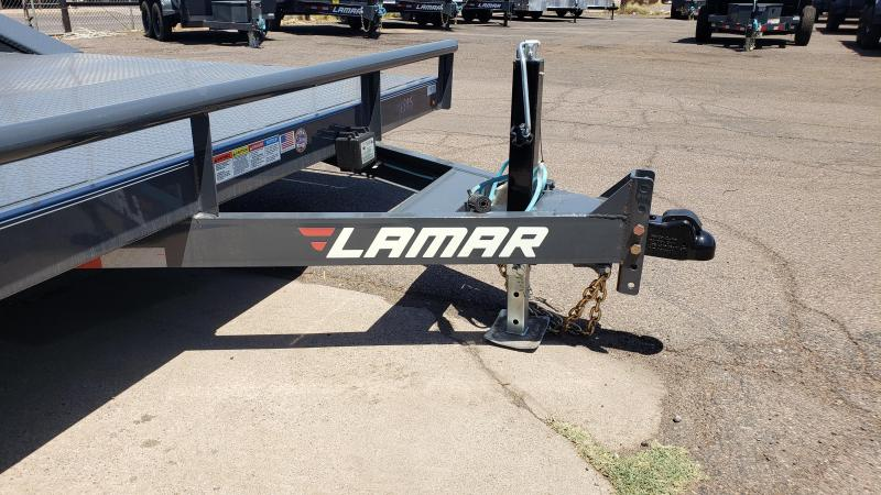 "2019 Lamar Trailers 102"" wide with drive over fenders CC-5.2k-20 Steel Deck Car / Open Car Trailers 102 Wide Drive Over Fender"