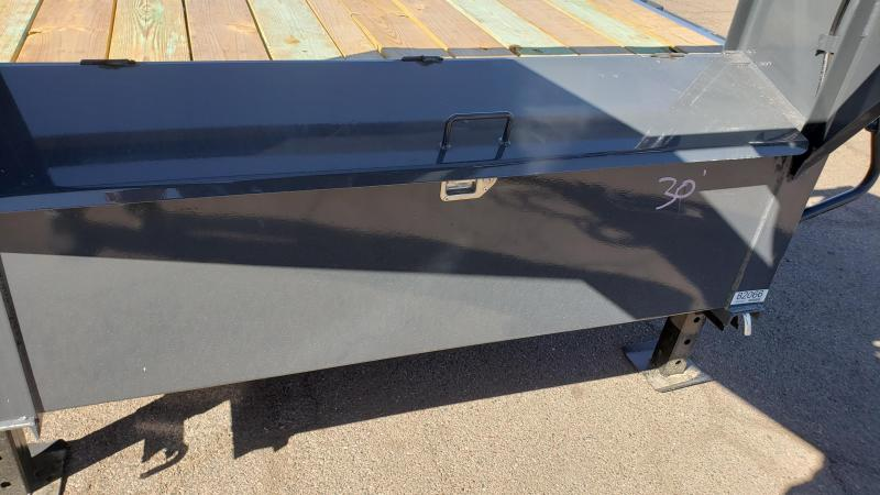 2020 Lamar Trailers Deck Over 30' 14k Flatbed Trailer