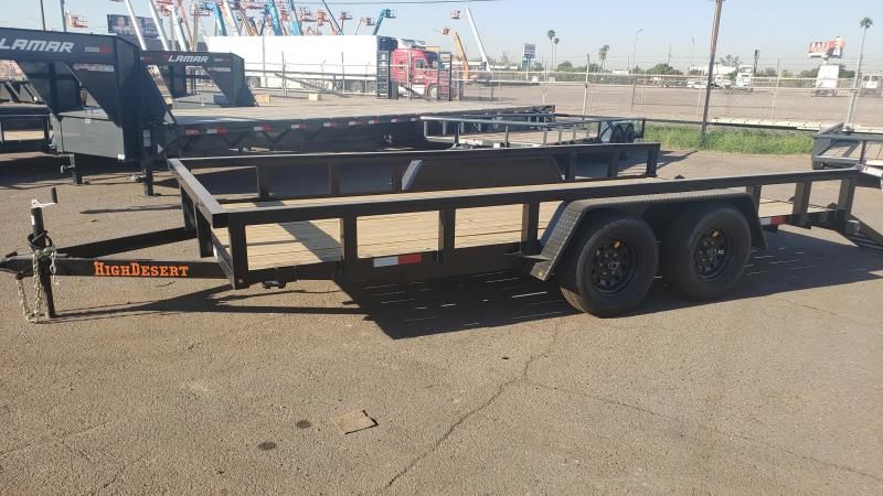 2020 7' x 16' High Desert Utility Trailer, 12000# GVWR, ***CASH DISCOUNT- SEE BELOW***
