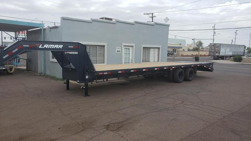 2019 Lamar Trailers FD-10k-30-MR Flatbed Trailer