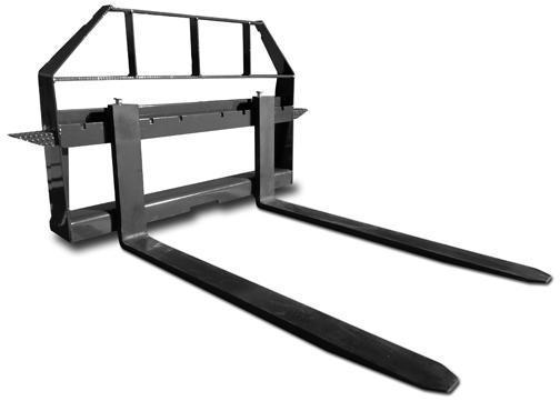 Skid Steer Attachments - Construction Implements Depot Standard Duty Pallet Forks