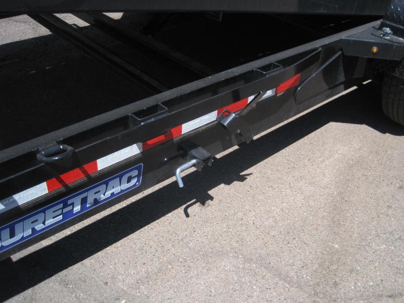 2019 Sure-Trac Trailer TD-14k-20ft Split Tilt Equipment Trailer