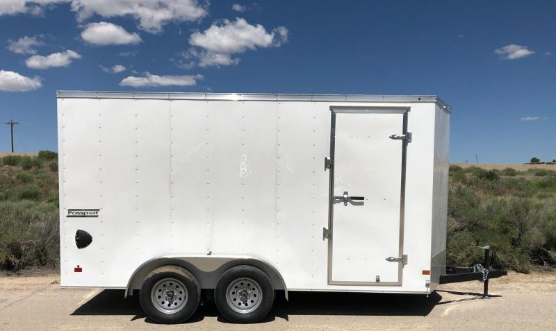 2019 Haulmark 7x14ft passport Enclosed Cargo Trailer