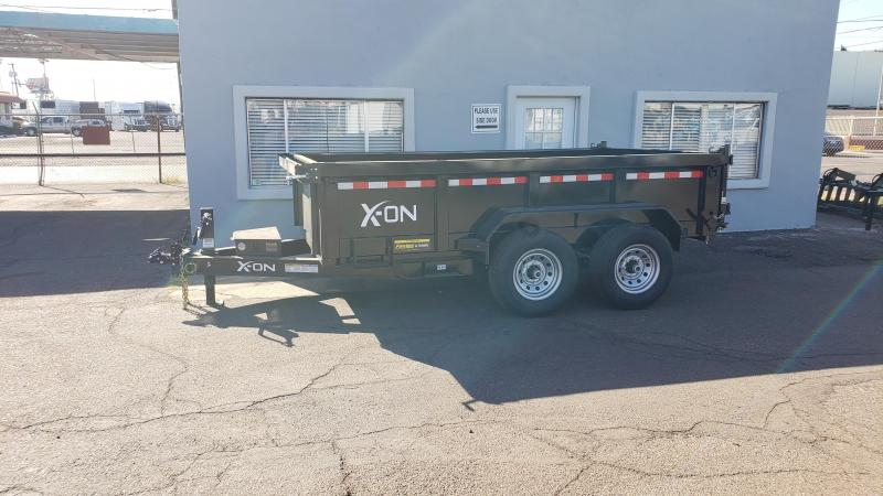 """2019 X-On I6-DT831227 Dump Trailer 83"""" x 12'"""