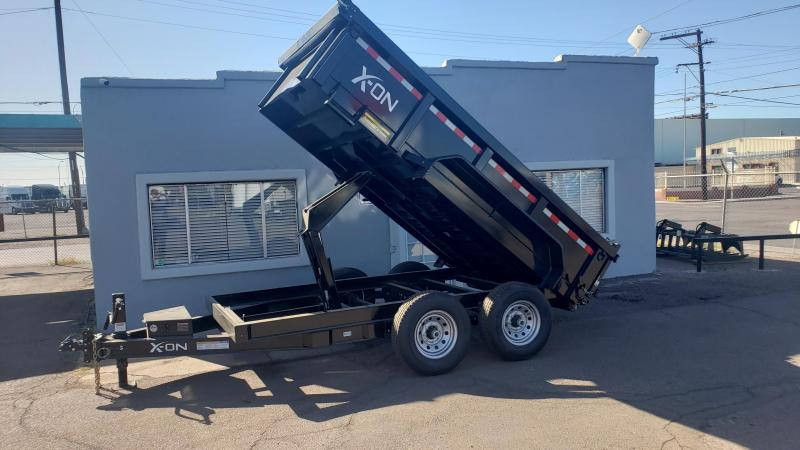 "2019 X-On I6-DT831227 Dump Trailer 83"" x 12'"
