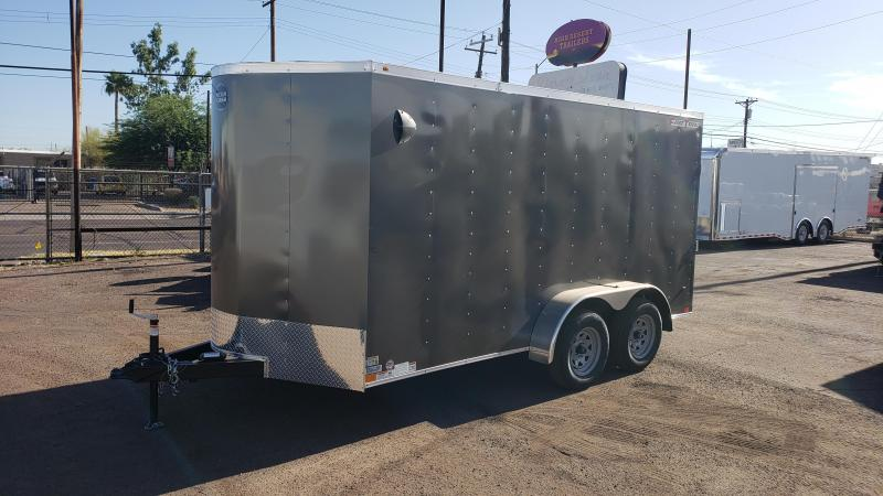 2020 Wells Cargo 7x14ft Fast Trac Enclosed Cargo Trailer