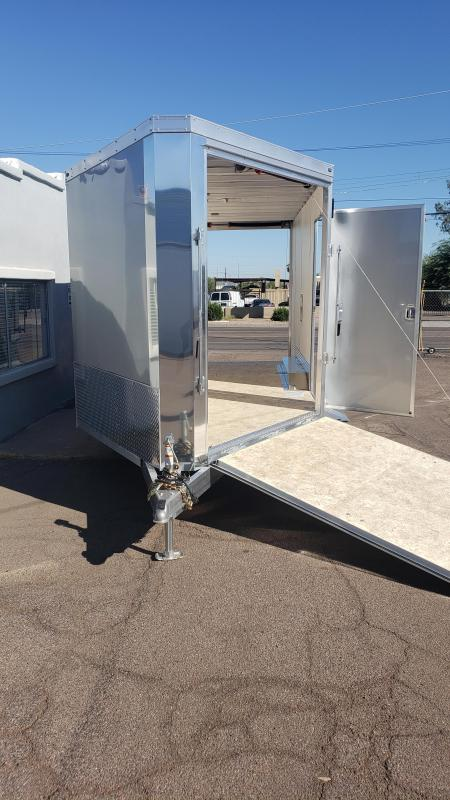 2020 Wells Cargo Sport Trac Motorcycle Enclosed Racing Trailer