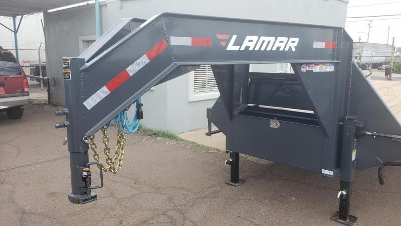 2019 Lamar Trailers FD-10k-30-MR Flatbed Trailer