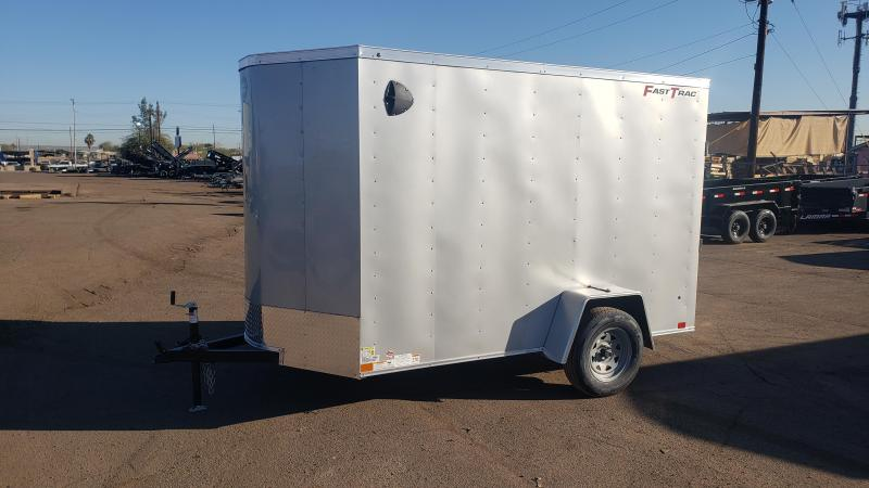 2020 Wells Cargo FAST TRAC 6' x 10'  Enclosed Cargo Trailer